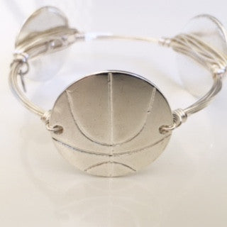 Basketball (Silver) Game Day Bangle