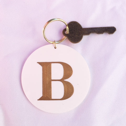 Large Personalized Keychain