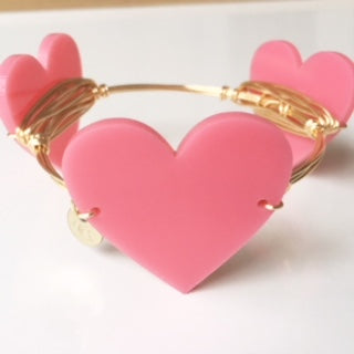 **Large Valentine Heart Bangle - 50% OFF!!!!**