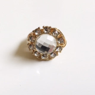 Crystal Jeweled Ring