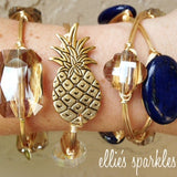 Golden Pineapple Bangle