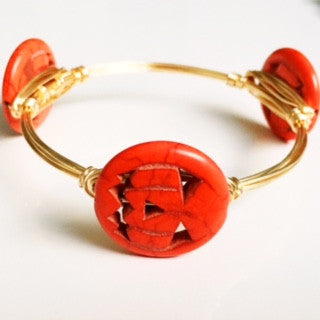 Halloween Pumpkin Bangle