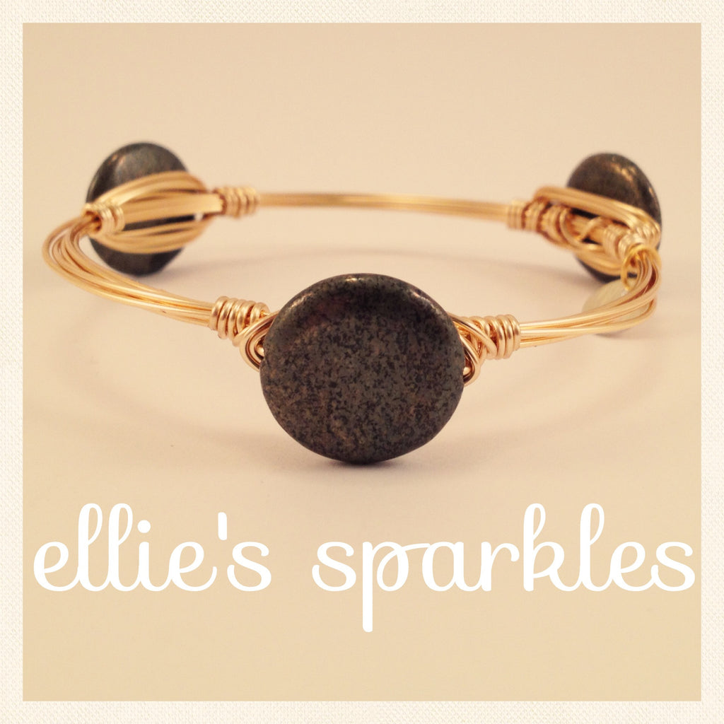 Metallic Coin Bangle