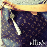 Monogrammed Purse Charm