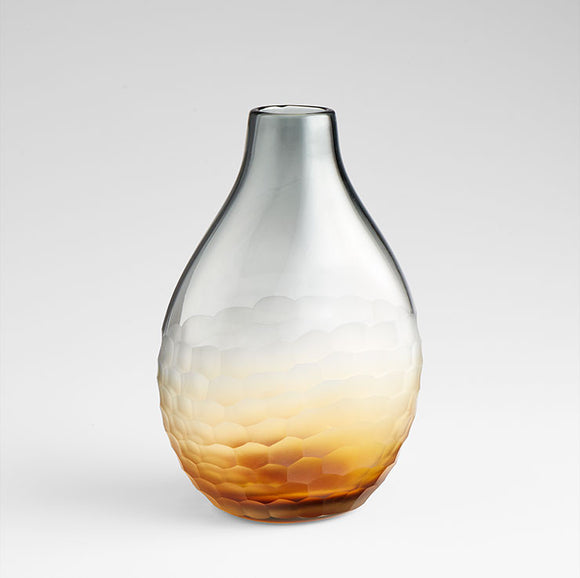 Cyan Design 07853 Vase in Amber & Smoked
