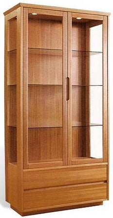 Sun Cabinet 214540 Display Cabinet in Teak