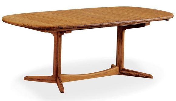 Sun Company BL27 Dining Table with Rounded Edges in Teak
