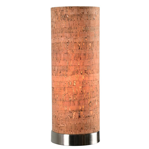 Kenroy Lamps Bulletin Cork Drum Shade