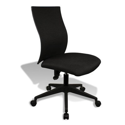 Jesper Kaja Office Chair in a Black Fabric and Black Base
