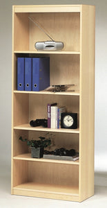 Westergaard 65034 Bookcase in a Maple Wood with 5 Shelves
