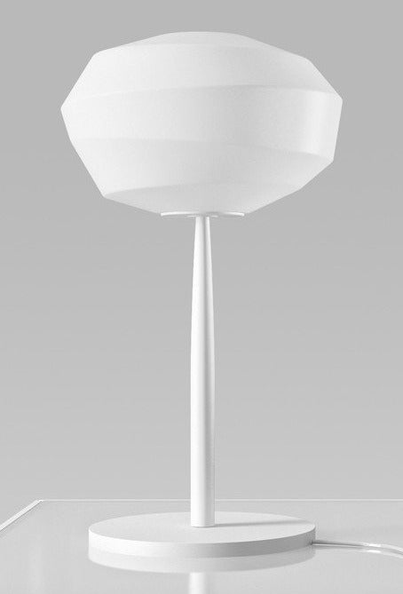 Natuzzi Astra L489TQU Table Lamp in Abat Jour White