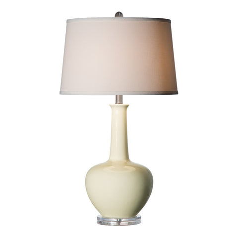 Anthony California 349 CREAM ceramic table lamp