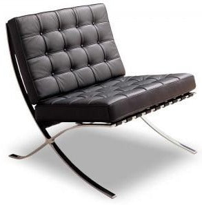 Ital Studio Savona Occasional Chair in Wenge Leather