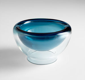 Cyan Design 06123 Bowl in Clear and Cobalt