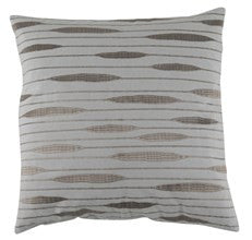 Actona Ekin Beige Silver Cotton Decorative Pillow