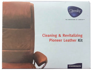 Ekornes Stressless Cleaning & Revitalizing Pioneer Leather Kit