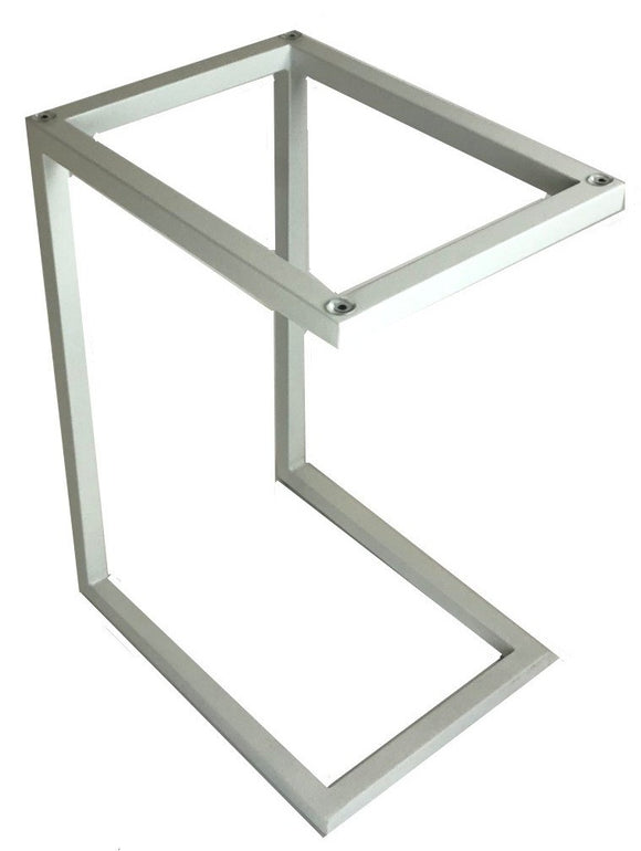 Ital Studio Safari End Table in a White Powder Coat