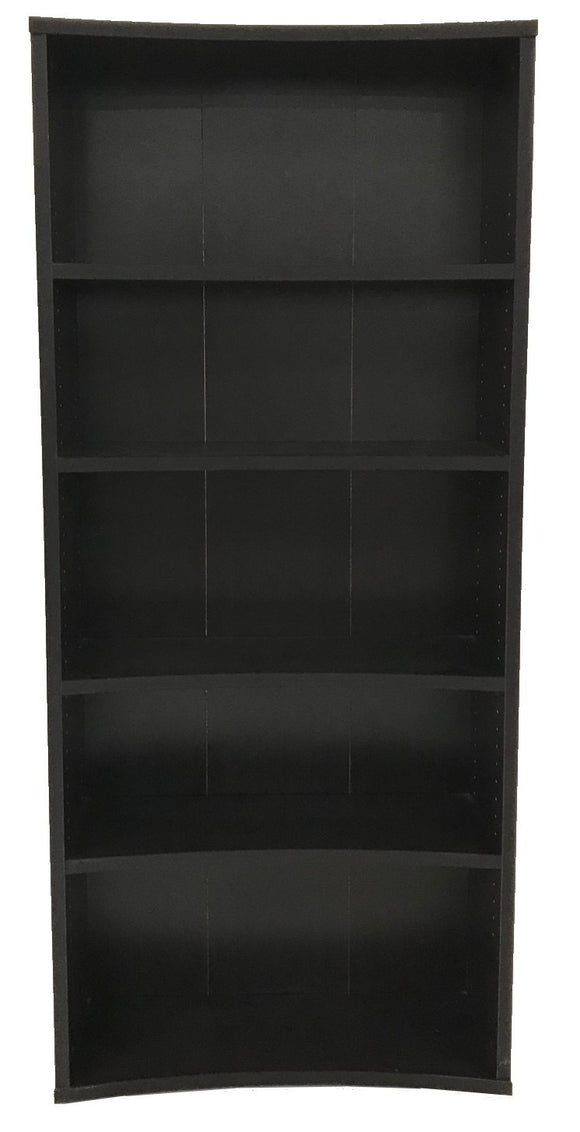 Scanbirk 78852 Bookcase in Coffee Stained Wood