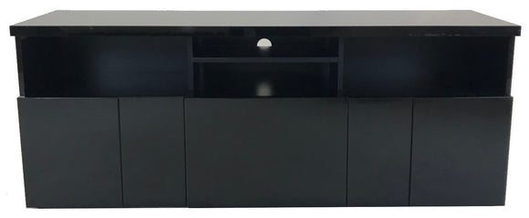 Alf Italia Sienna PJSI0632 TV Stand in Black High Gloss