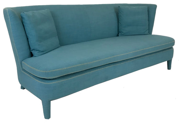 Boliya KD5153 Sofa in Blue Fabric