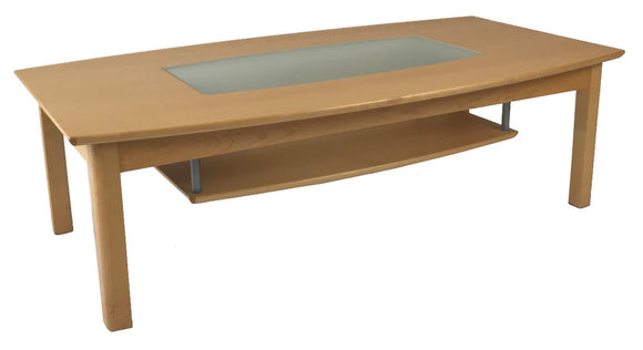 Toften 230 Coffee Table in Beech and Glass