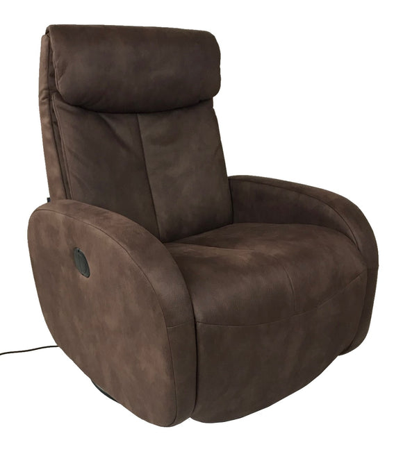 Sitbest 105 Base Texas Power Recliner with Ottoman