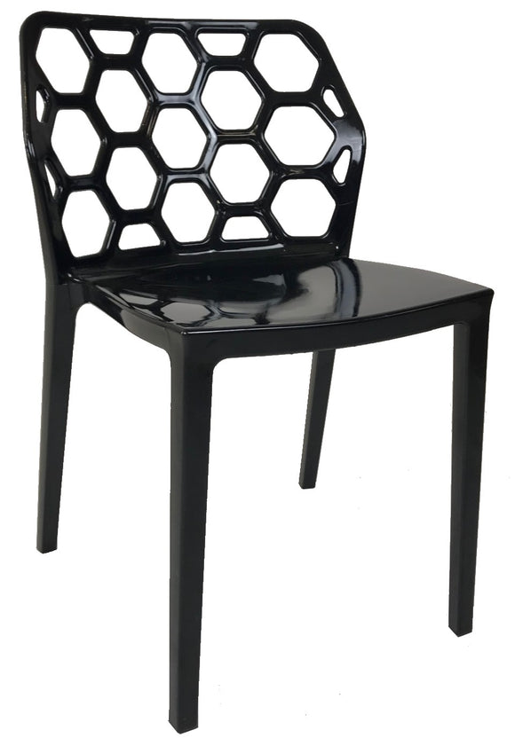 Eurostyle Mason 03367 Dining Chair in Black