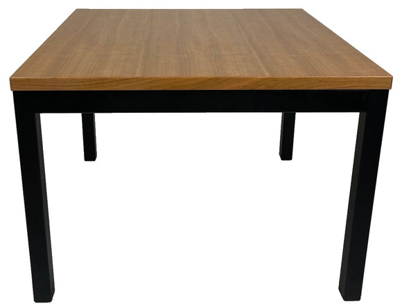 Vejle 601 End Table in Cherry and Black Steel