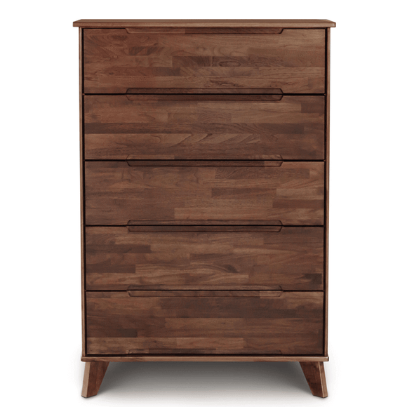 Copeland Furniture Linn LNN-55-94 High Chest in Natural Walnut
