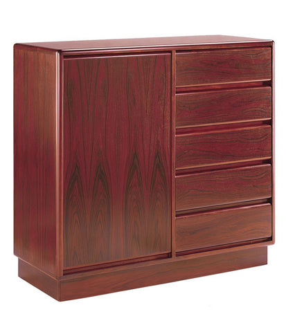 Mobican Prestigia Rosewood Gentelman's Chest Bedroom Storage Unit