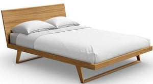 Mobican Malta Contemporary Queen Bed in Teak Wood