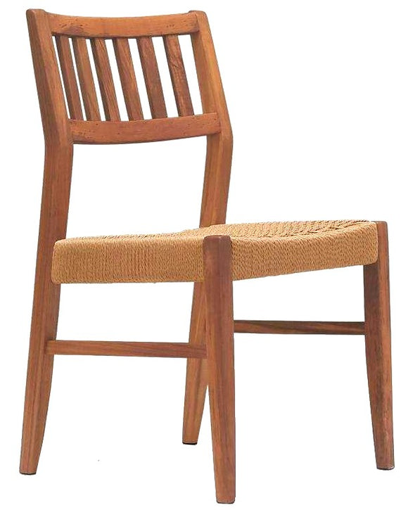 Sun Cabinet 1004R Teak Dining Chair with Rope Seat