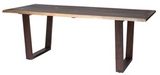 Nuevo Napa HGSR566 Dining Table Seared Oak