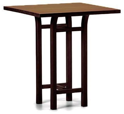 Greenington Tulip Bar Table Dark Walnut