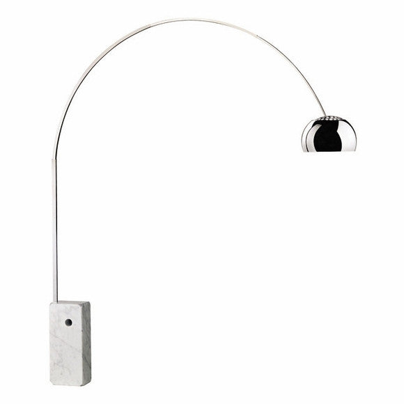 Ital Studio 8088 Arco Floor Lamp with White Marble