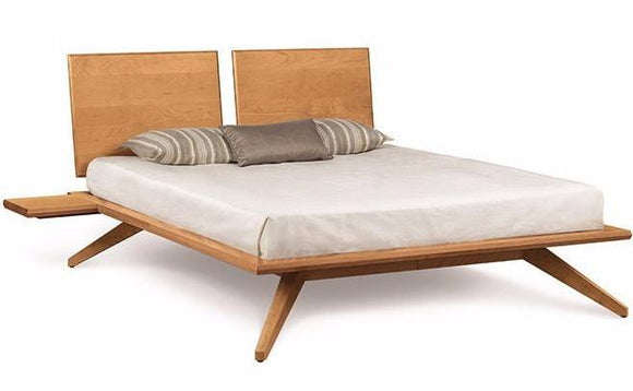 Copeland Furniture Astrid Platform Bed Natural Cherry Wood