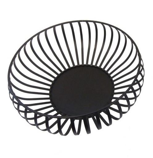 Actona Dekorations Large Storage Basket in Black Metal