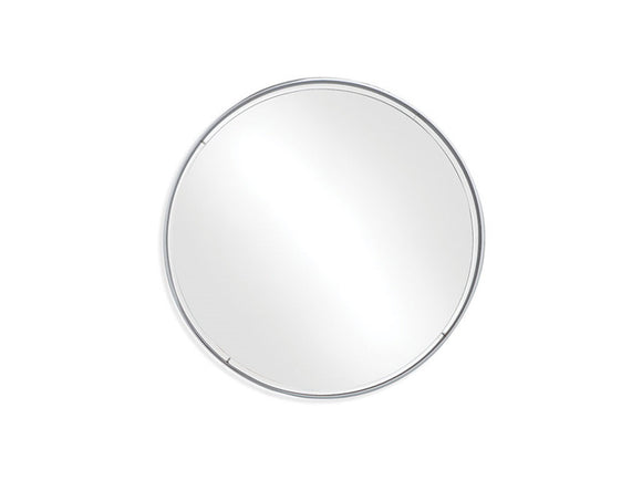 BDI Furniture Optic 4500 Polished Chrome Round Mirror