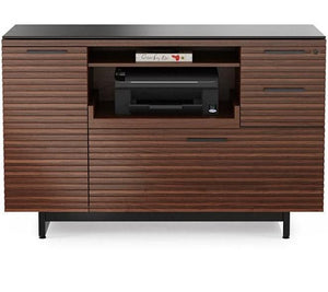 BDI Furniture Corridor Cabinet 6520 Multi-Functional Office Cabinet Chocolate Walnut