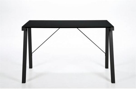 Actona Typhoon Black Steel Desk