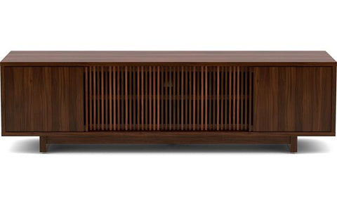 BDI Furniture Vertica 8559 TV Stand Media Storage Console Chocolate Stained Walnut