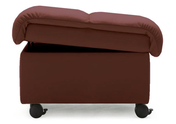 Ekornes Stressless Soft Ottoman in Cognac Paloma Leather