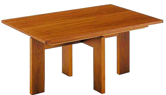 Skovby SM 22 Natural Walnut Dining Table with Leaves