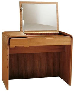 Sun Company 818010 Vanity with Soft Curves in Teak
