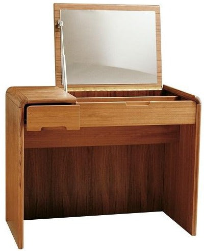 Sun Cabinet 818010 Vanity with Soft Curves in Teak