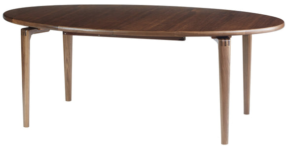 Sun Cabinet JM203 Oval Dining Table in Walnut
