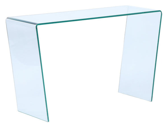 Ital Studio Togo Console Table in Clear Glass