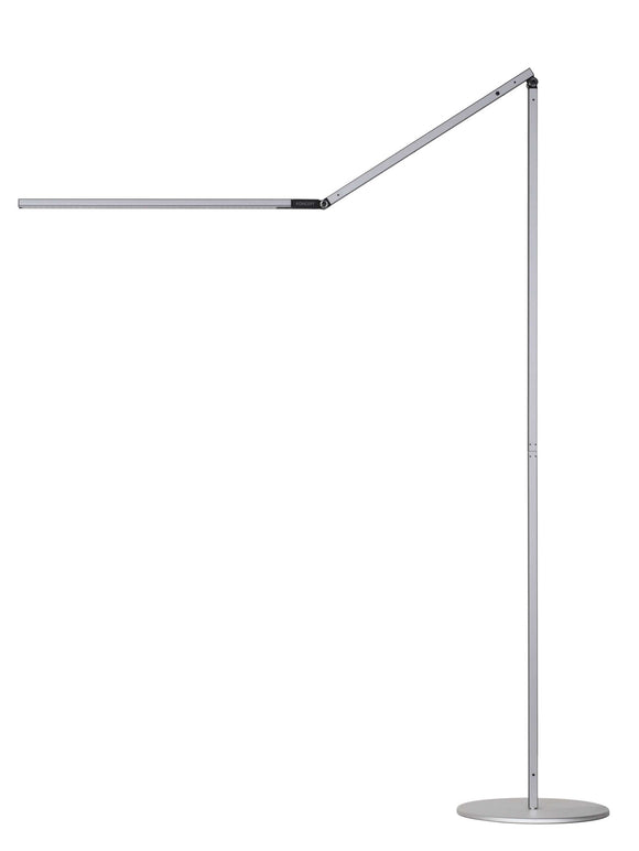 Koncept Z Bar Floor Metallic Black; Silver; White Modern LED Lighting