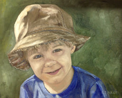 Commission- Boy in Hat