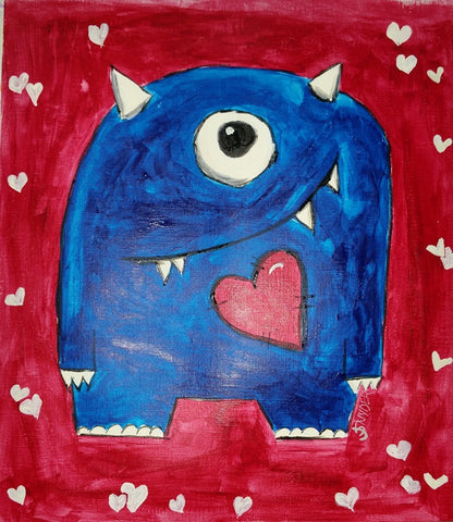 Heart Monster big/little pARTy